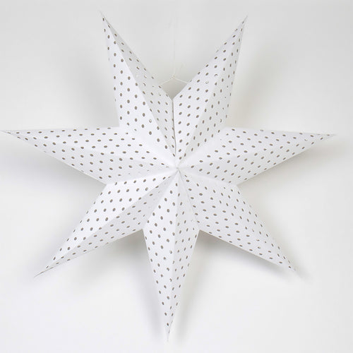 GAP ADVENT STAR L , white by Afroart