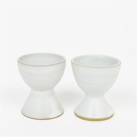 HERA EGG CUP WHITE by Afroart