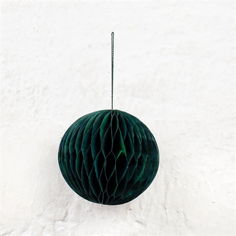 HONEYCOMB GLOBE Christmas pendant by Afroart (green)