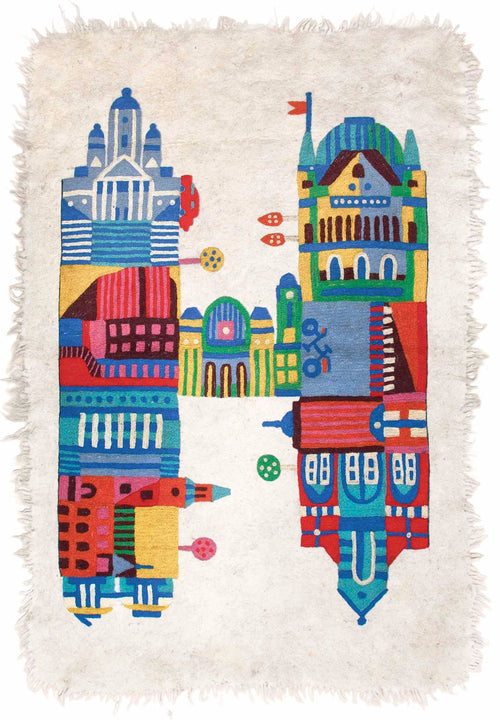 PRE-ORDER H IS FOR HELSINKI CARPETby Tikau (125x180 cm)