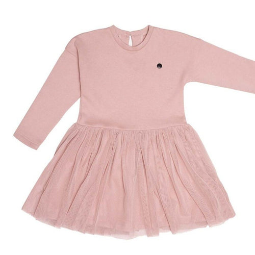 TUTU DRESS (Pink, 92-110cm) by Wooly Organics