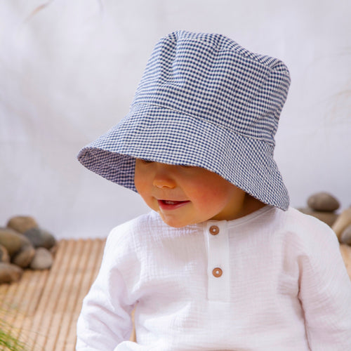 JACK SUN HAT by Olivierbaby (Bumble Check)