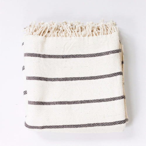 STRIPE TOWEL ORGANIC COTTON by Tikau (100 x 90 cm)