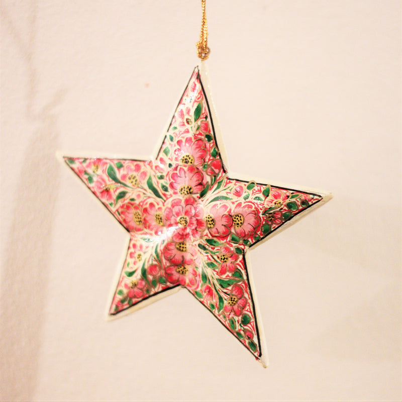 CHRISTMAS STAR (PINK) L by Tikau