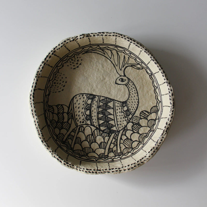 NEW! PRE-ORDER UNIQUE ART DECORATION PLATE DEAR by Tikau