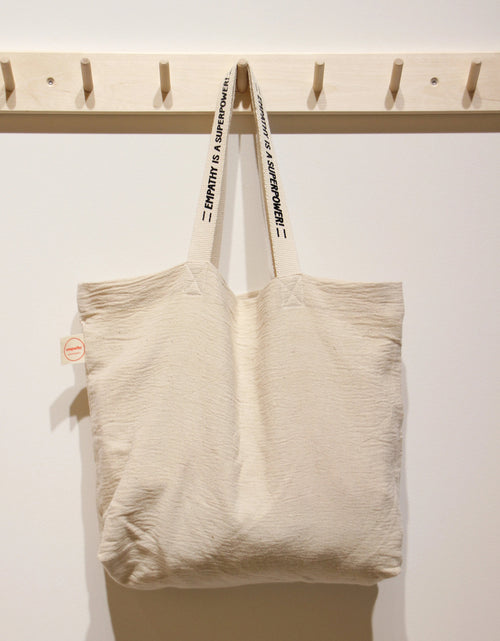 Empathy Movement TOTE BAG L with printed shoulder strap