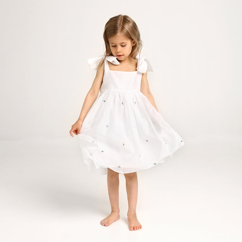 MIRABELLA DRESS BRIGHT WHITE by Isleande
