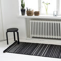 NOMAD CARPET by Tikau (Black and White, 90x180cm)