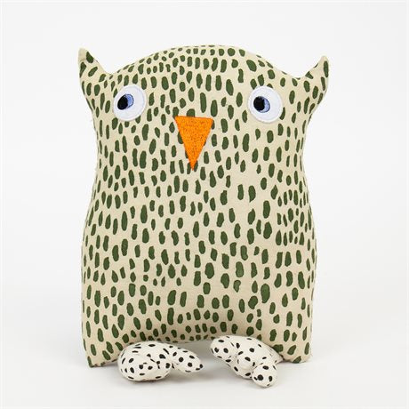 OWL STORM SOFT TOY by Afroart