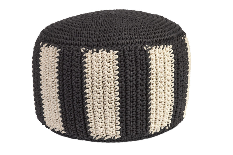 POUFFE by Anne-Claire Petit (Black & White)