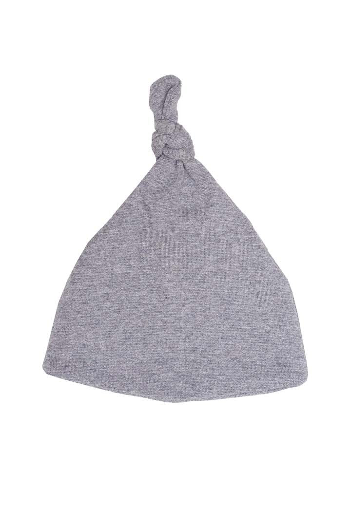BABY KNOT HAT (grey) by Wooly Organics