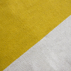 YELLOW BLOCK CARPET by Tikau (Yellow & White, 170x250cm)