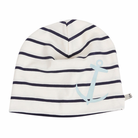 BEANIE ANCHOR by emma och malena (Blue Anchor, S-M)