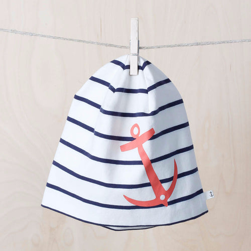 BEANIE ANCHOR by emma och malena (Peach anchor)