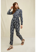 PEOPLE TREE Anisa Fennel Print Jumpsuit