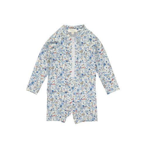 BOYS RASH SUIT  by Olivierbaby (Ocean Blue)