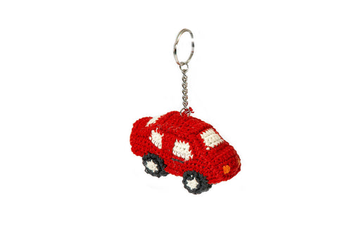 KEYHOLDER CAR RED BY Anne-Claire Petit