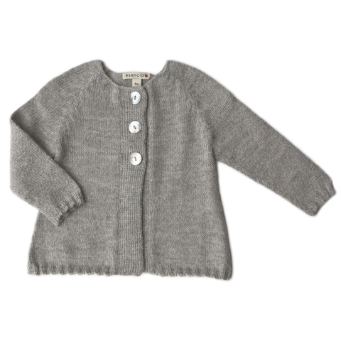 CARDIGAN MALOU by Esencia (0-6 months, Dove)