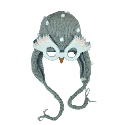 Crane Hat by Hats over Heels (2-8 years, grey)
