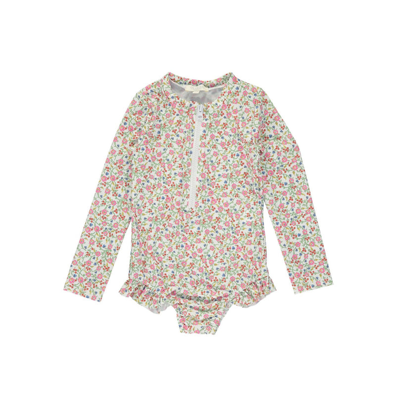 GIRLS RASH SUIT  by Olivierbaby (Hannah Fay Pink)
