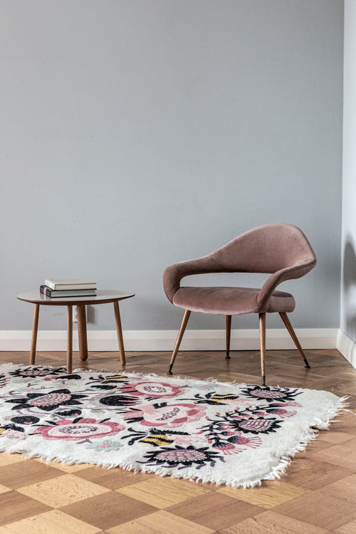 BOMBROO CARPET by Tikau (Light Pink, 125x180cm)