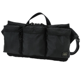 PORTER YOSHIDA & CO FORCE WAIST BAG (BLACK)