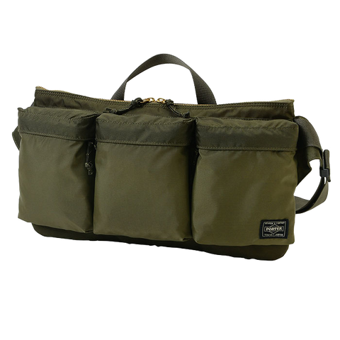 PORTER YOSHIDA & CO FORCE WAIST BAG (OLIVE)