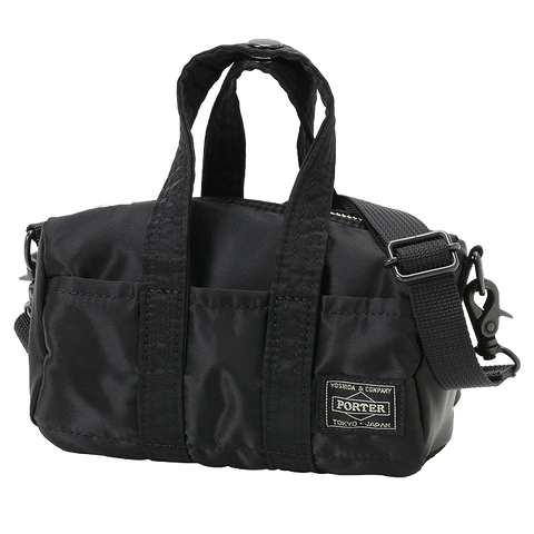 PORTER YOSHIDA & CO HOWL MINI BOSTON BAG (BLACK)