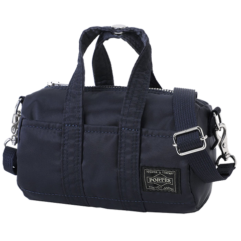 PORTER YOSHIDA & CO HOWL MINI BOSTON BAG (NAVY)
