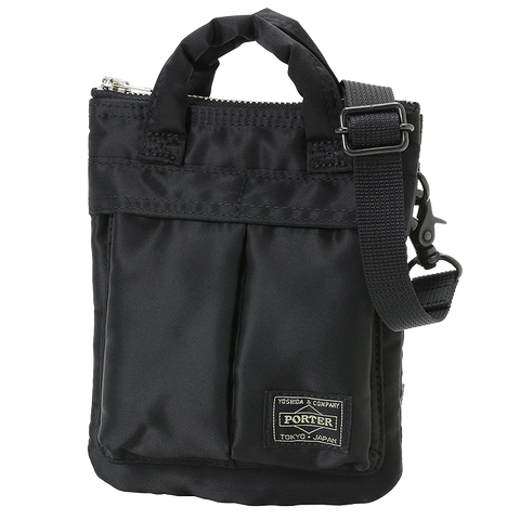 PORTER YOSHIDA & CO HOWL MINI HELMET BAG (BLACK)