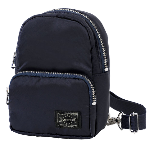 PORTER YOSHIDA & CO HOWL MINI DAYPACK BAG (NAVY)