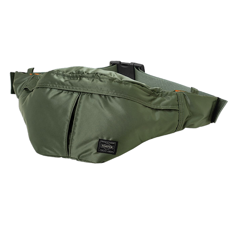 PORTER YOSHIDA & CO TANKER WAISTBAG (L) SAGE GREEN