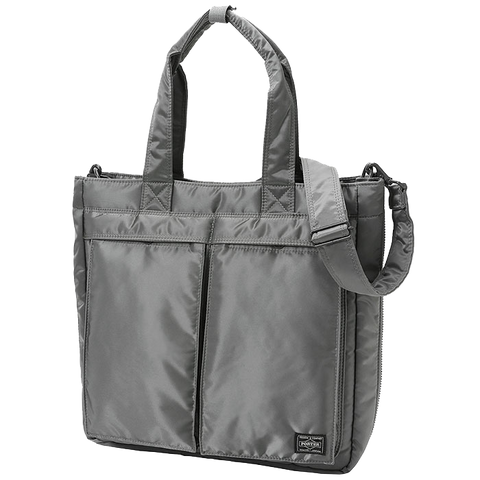 PORTER YOSHIDA & CO TANKER 2 WAY TOTE (SILVER)