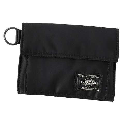 PORTER YOSHIDA & CO TANKER WALLET (BLACK)