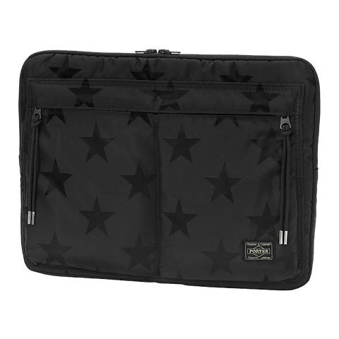 PORTER YOSHIDA & CO FLAG DOCUMENT CASE (BLACK)
