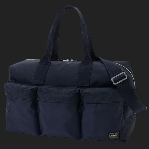 "PORTER YOSHIDA & CO (Force 2-Way Duffle Bag) ""S"" NAVY"