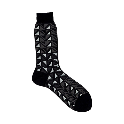 AYAME x THE C53 FLAG SOCK (BLACK & WHITE)