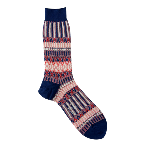 AYAME BASKET LUNCH SOCK (UNION COLORWAY)