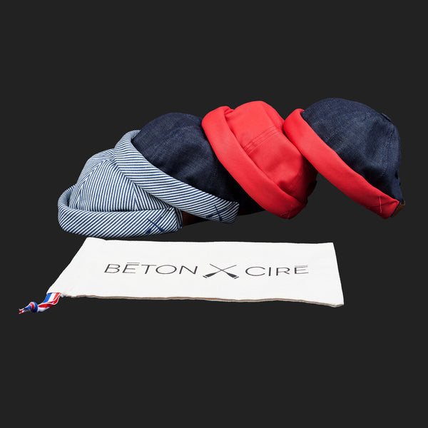 BETONXCIRE (Stripe Denim Hat)
