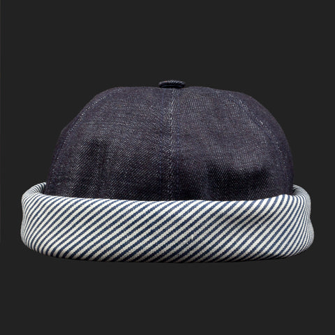 BETONXCIRE (Denim/Stripe Hat)