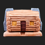 Incienso: Incense Burner (Log Cabin)