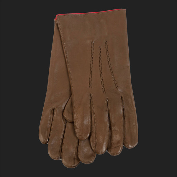 LEON FLAM CLASSIC GLOVES (LIGHT BROWN)