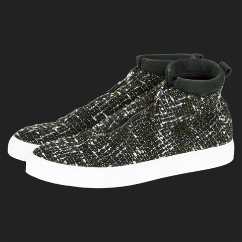 DIEMME FONTESI HI TOPS (GREEN TWEED)