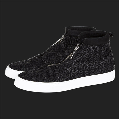 DIEMME FONTESI HI TOPS (BLACK TWEED)