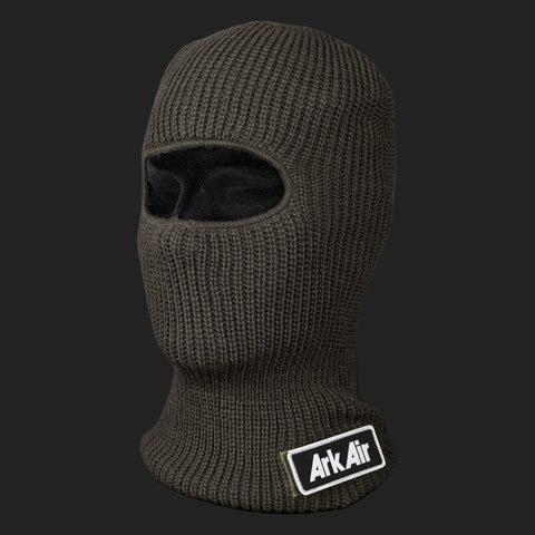 ARK AIR KNITTED BALACLAVA (ARMY GREEN)