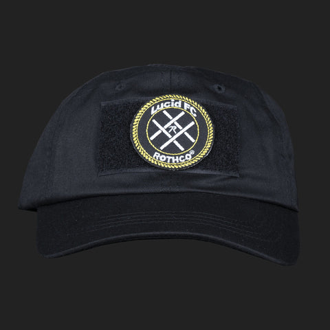 LUCID FC x ROTHCO CREST LOGO PATCH CAP (BLACK)