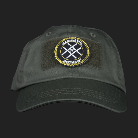 LUCID FC x ROTHCO CREST LOGO PATCH CAP (GREEN)