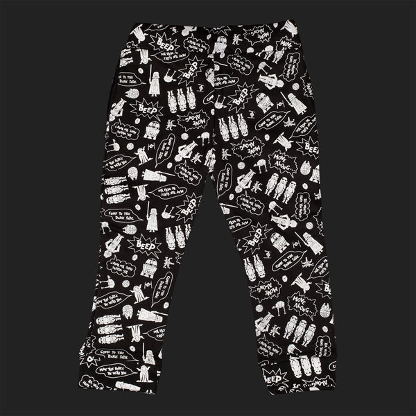 LITTLE ELEVEN PARIS STAR WARS CARTOON JOGGING BOTTOMS