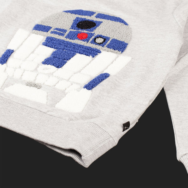 LITTLE ELEVEN PARIS R2D2 MOTIF SWEAT