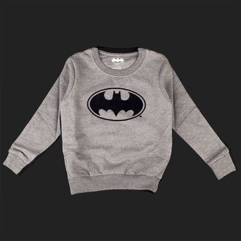 LITTLE ELEVEN PARIS BATMAN LOGO SWEAT